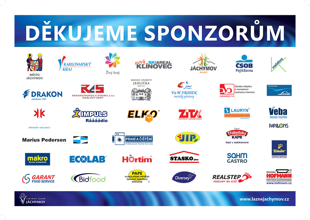 Acknowledgments to sponsors - ZLS 2019